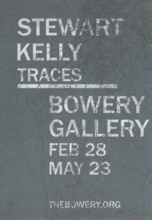 Traces, Solo Exhibition, Bowery Gallery, Leeds, United Kingdom, 2014.
