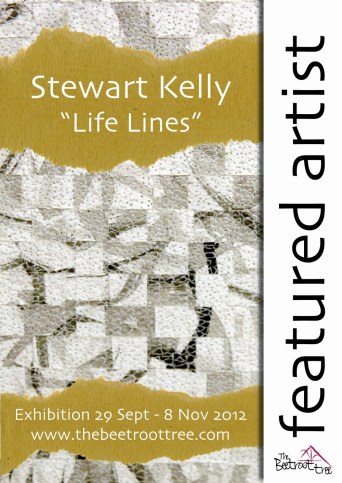 Life Lines, Solo Exhibition, The Beetroot Tree, Derbyshire, United Kingdom, 2012.