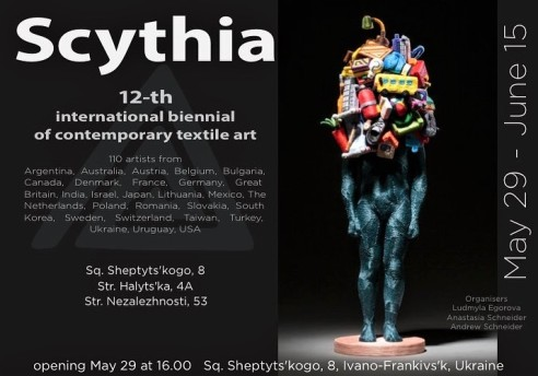 12th International Biennial of Contemporary Textile Art, Scythia, Ivano-Frankivs'k, Ukraine, 2018.