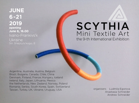 9th International Biennial of Contemporary Mini Textile Art, Scythia, Ivano-Frankivs'k, Ukraine, 2019.
